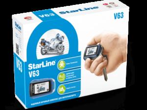 Купить мотосигнализацию StarLine V63