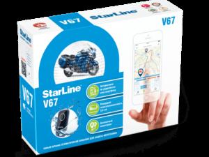 Коробка StarLine V67 moto