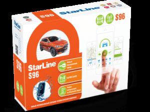 Купить автосигнализацию StarLine S96 BT 2CAN+2LIN GSM+GPS в Мурманске