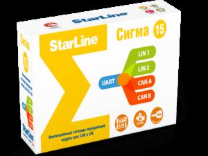 Коробка StarLine Сигма15