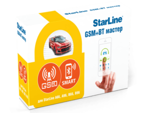 StarLine GSM+BT-модуль коробка
