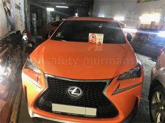 Сигнализация с автозапуском для Lexus